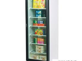 Glass Door Static Freezer - 300 Litre