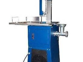 NEW MEAT BAND SAW WITH MINCER & SAUSAGE FILLER