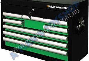 TOOLBOX 8 DRAWER GREEN 660MM LONG