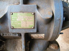 blower  rotary valve - picture1' - Click to enlarge