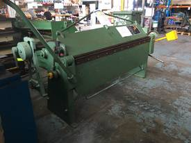 Sheet Metal Folder 6 foot 1800mm Manual Operation  - picture2' - Click to enlarge