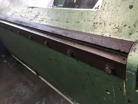 Sheet Metal Folder 6 foot 1800mm Manual Operation  - picture4' - Click to enlarge
