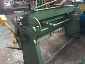 Sheet Metal Folder 6 foot 1800mm Manual Operation  - picture5' - Click to enlarge