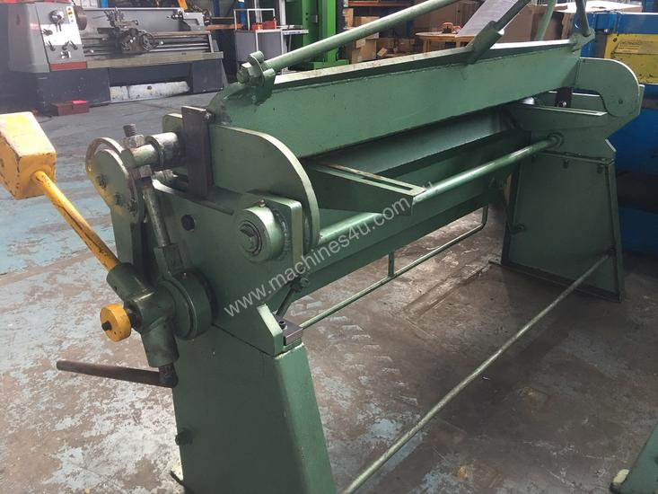Sheet Metal Folder 6 foot 1800mm Manual Operation
