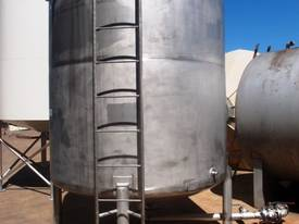 Stainless Steel Storage Tank - Capacity 8,000Lt. - picture1' - Click to enlarge