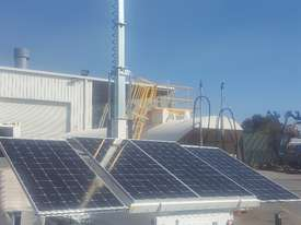 LED Solar lighting tower - picture2' - Click to enlarge