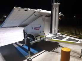 LED Solar lighting tower - picture5' - Click to enlarge