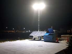 LED Solar lighting tower - picture6' - Click to enlarge