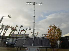 LED Solar lighting tower - picture9' - Click to enlarge