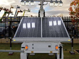 LED Solar lighting tower - picture0' - Click to enlarge