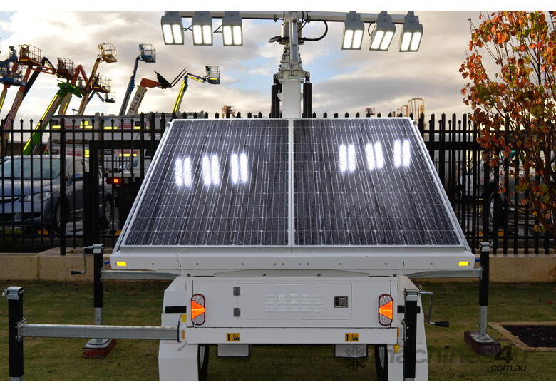 LED Solar lighting tower