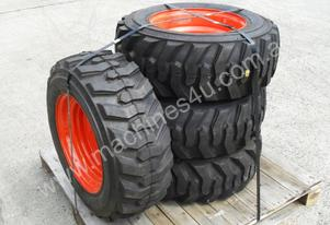 10-16.5 10ply Spare TYRE assembles for Racoon skid