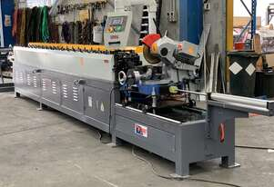 HVAC Ducting TDC 20 Station Duct Flanging Rollforming Production Line With 2Ton Decoiler