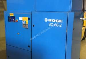 45kW (60HP) Screw Compressor 8 Bar (116 psi) BOGE