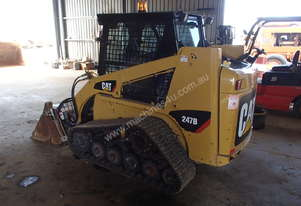 Cat 247B2 Track Skidsteer Loader