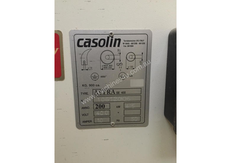 Casolin 3600 Panel Saw