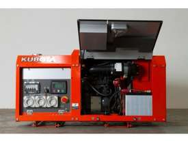 Kubota 8.8kva Lowboy Diesel Generator with AMF - picture4' - Click to enlarge