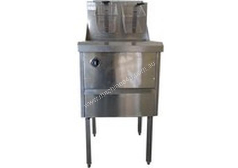 Complete WFS-1/22 Single Pan Fish and Chips Deep Fryer - 28 Liter Capacity