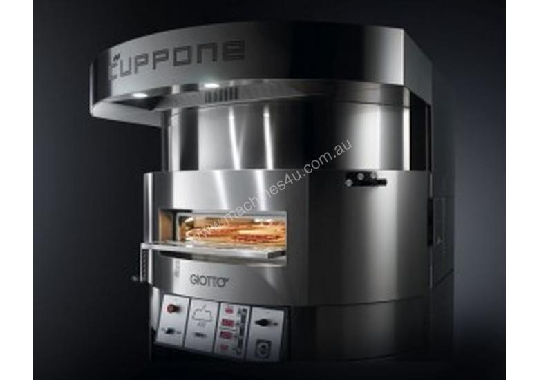Giotto Single chamber electric oven with rotating bed plate