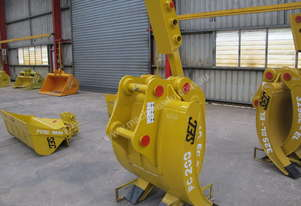 Brand New SEC 20ton Mechanical Grapple PC200