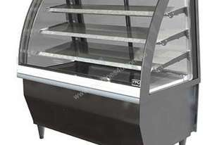 FPG 5CA18-CU-TD 5000 Series Controlled Ambient Cabinet - Curved glass - Tilt door - 1800mm