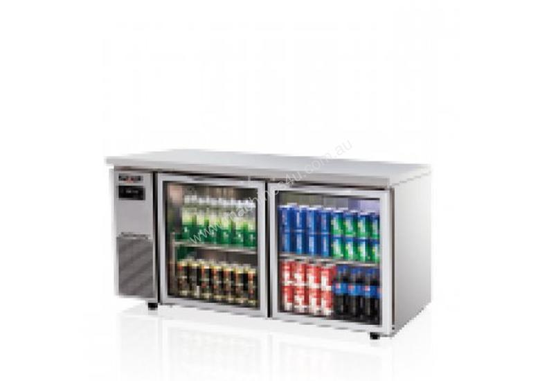 New Skipio Skipio Sgr15 2 Under Counter Refrigerator Two Glass Door