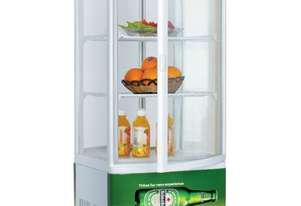 Exquisite CTD78L Counter Top Display Fridge w/Bottom Light Box