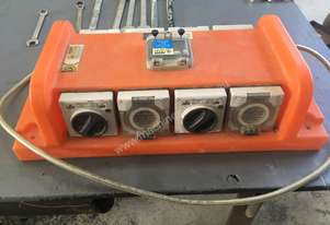 3 x Powersafe RB8-15 RCD Electrical Distribution Board