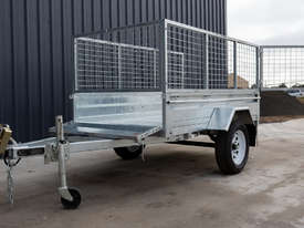 8ft x 5ft Single Axle Box Trailer - picture0' - Click to enlarge