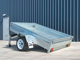 8ft x 5ft Single Axle Box Trailer - picture2' - Click to enlarge