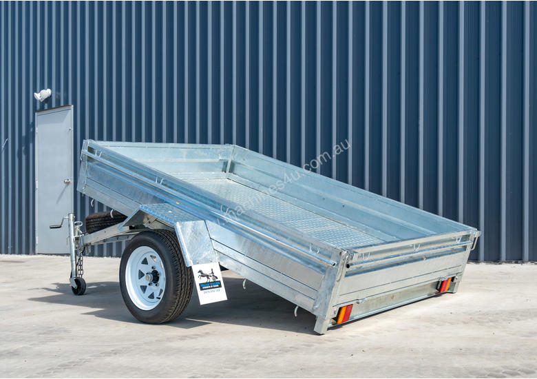 8ft x 5ft Single Axle Box Trailer