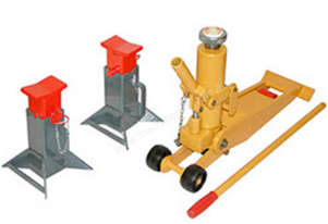 Forklift Jack and Stand Set - In Stock