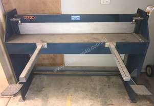 Hafco Metal Guilotine