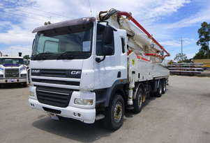 2010 DAF FADCF85 8x4 Day Cabin Truck with 2010 Zoomlion 47X-5RZ Concrete Boom Pump