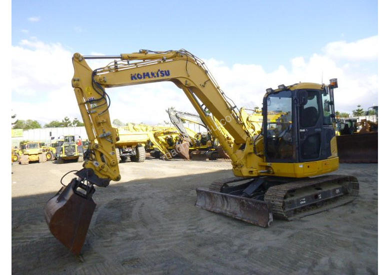 Used komatsu PC 88 MR-8 7-20 Tonne Excavator in , - Listed on Machines4u