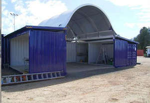 """Igloo Dome Container Shelter - 40"""" x  40"""" ( 12m x 12m )"""