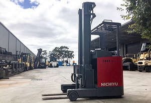 Nichiyu 1.4T BE Sit Down Reach Truck