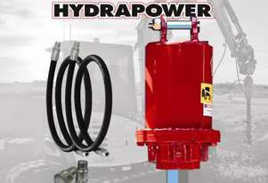 Hydrapower NK1 Auger Drive / Earth Drill suits Excavators to 4.5 Tonnes
