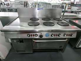Used goldstein Cook Top for sale - 6 element Electric range Goldstein - picture0' - Click to enlarge