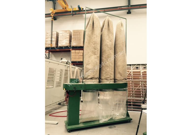 T1100 Dust Extraction Bags (75per box)clear suit 675 dia