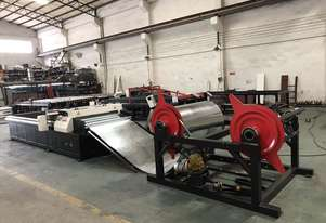 Decoiler, Feeder Straightener for CNC Plasma - Suit 1550mm Wide