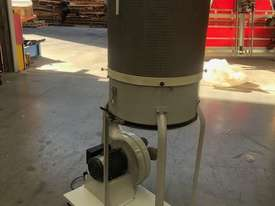 Single cartridge 2hp single phase extractor - picture1' - Click to enlarge