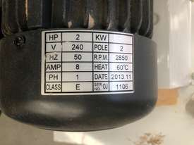 Single cartridge 2hp single phase extractor - picture2' - Click to enlarge