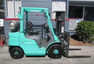 2.5 ton Mitsubishi Container Mast Used Forklift