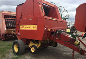 New Holland 650 Round Baler Hay/Forage Equip