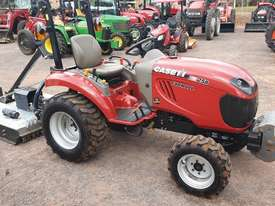Case IH 25B with 4' Gal slasher - picture0' - Click to enlarge