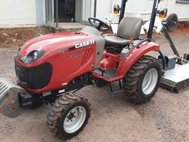 Case IH 25B with 4' Gal slasher - picture1' - Click to enlarge