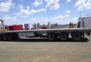 Barker   Semi Flat top Trailer