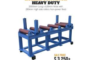 Heavy Duty Roller Conveyors For the Serious Metal Fabricator