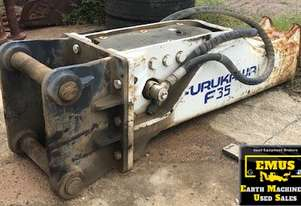 2008 Hydraulic Rock Breaker, suits 25 to 35tonner. E.M.U.S. AS200